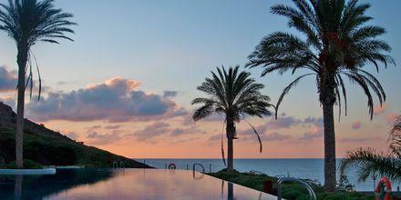 Poolen på Playitas Hotel på Fuerteventura, De Kanariske Øer.