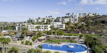 Udsigt over Playitas Resort på Fuerteventura,