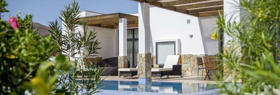 3-værelses villaer på Playitas på Fuerteventura, De Kanariske Øer.