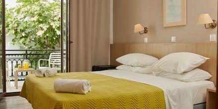 Dobbeltværelse på Hotel Polixeni på Samos, Grækenland.
