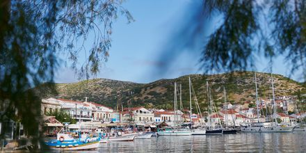 Hotel Polixeni på Samos, Grækenland.