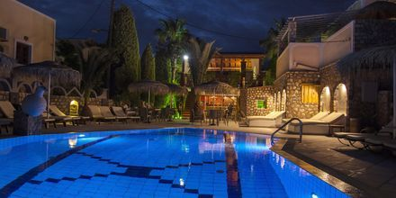 Aftenstid på Hotel Polydefkis.