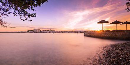 Strand i Porec, Kroatien.