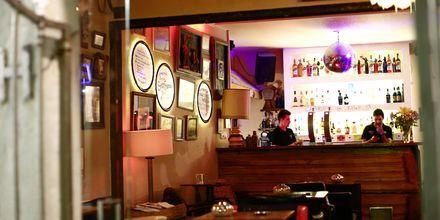 Bar i Portimao på Algarvekysten, Portugal.