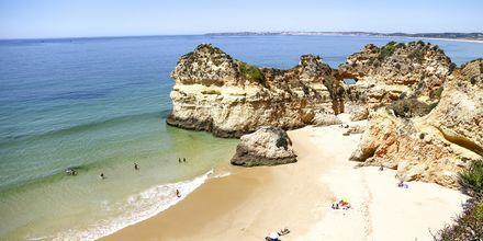 Praia dos Tres Irmas på Algarvekysten, Portugal
