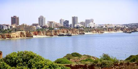 Portimao på Algarvekysten, Portugal.