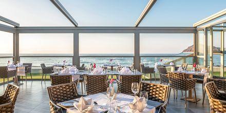 Restaurant på hotel Porto Platanias Luxury Selection.