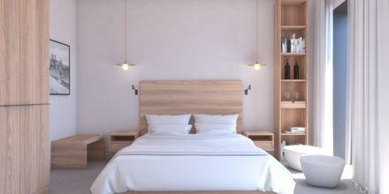 Skitsetegning af dobbeltværelse/enkeltværelse