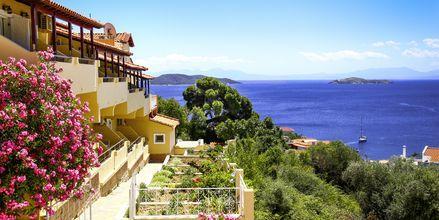 Hotel Poseidon på Skiathos, Grækenland.