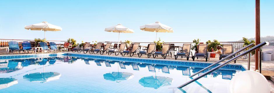 Pool på Hotel Poseidon, Skiathos.