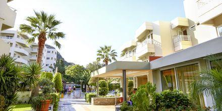 Reception på Hotel Poseidonia i Ixia på Rhodos, Grækenland.
