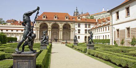 Slotsparken i Prag, Tjekkiet.