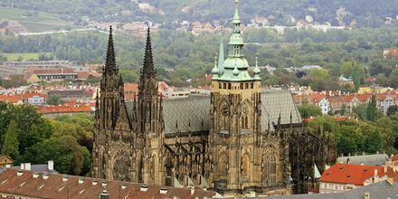 St. Vitus Katedralen - et landemærke i Prag.