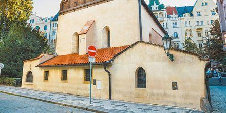 Det jødiske kvarter, Josefov, i Prag, Tjekkiet.