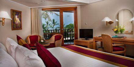 Deluxe-værelse på Hotel Prama Sanur Beach på Bali.