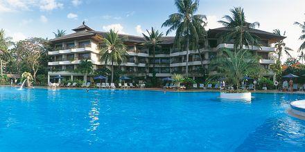 Poolområde på Hotel Prama Sanur Beach i Sanur, Bali