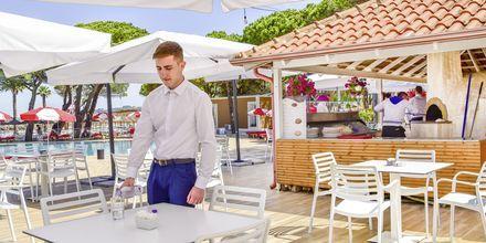 Restaurant på Prestige Resort, Durres Riviera i Albanien.