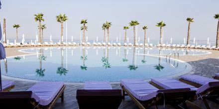 Saltvandspool på Prestige Resort, Durres Riviera i Albanien.