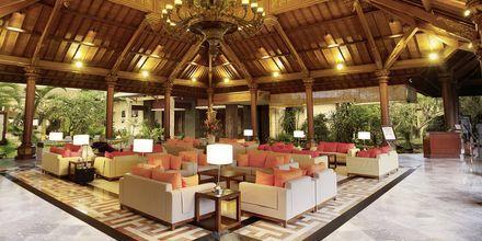 Lobbyen på Hotel Sanur Paradise Plaza i Sanur på Bali.