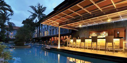 Poolbaren på Hotel Sanur Paradise Plaza i Sanur på Bali.