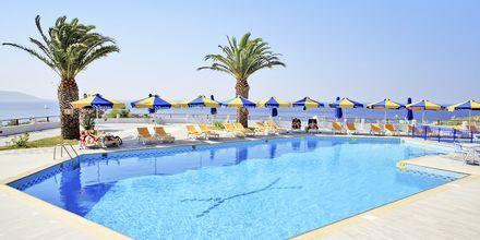 Poolområdet på Princessa Riviera Resort på Samos, Grækenland