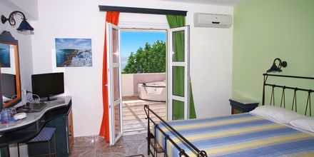 Deluxe-værelse på Princessa Riviera Resort på Samos, Grækenland