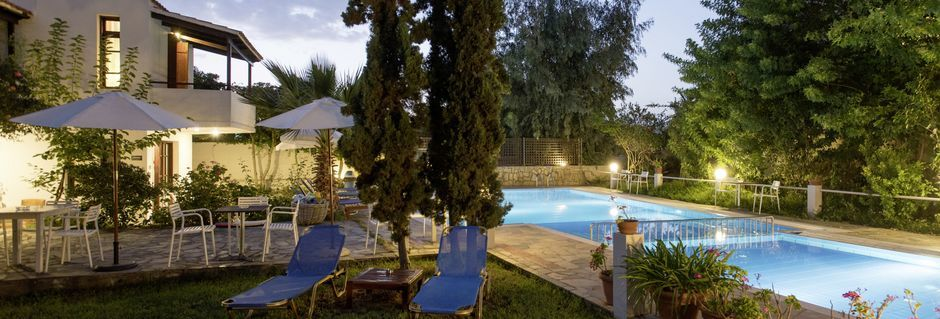 Proimos Maisonettes i Platanias på Kreta.