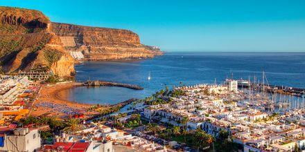 Havnen i Puerto Mogán på Gran Canaria, De Kanariske Øer, Spanien.