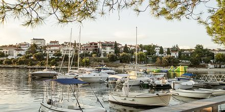 Havnen i Pula, Kroatien.