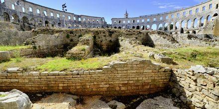 Amfiteatret i Pula, Kroatien.