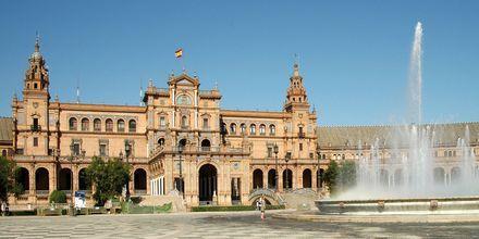Plaza de Espania i Sevilla