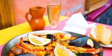 Paellaen blev opfundet i Valencia nær Alicante.