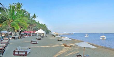 Stranden ved Hotel Puri Santrian i Sanur, Bali.