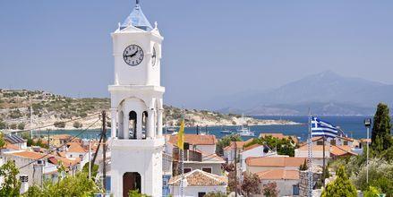Pythagorion på smukke Samos, Grækenland.