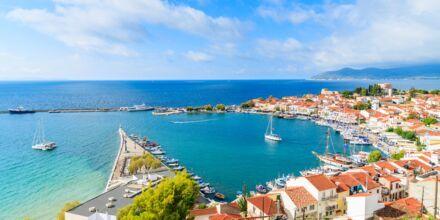 Den hyggelige havn i  Pythagorion på smukke Samos, Grækenland.