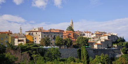 Den historiske by, Labin.