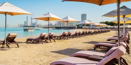 Strand på Hotel Radisson Blu Hotel & Resort Abu Dhabi Corniche, Abu Dhabi.