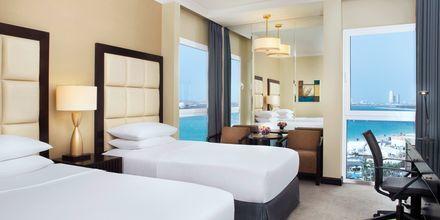 Dobbeltværelse på Hotel Radisson Blu Hotel & Resort Abu Dhabi Corniche, Abu Dhabi.