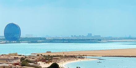 Beach Club på Hotel Radisson Blu Abu Dhabi Yas Island i Abu Dhabi.