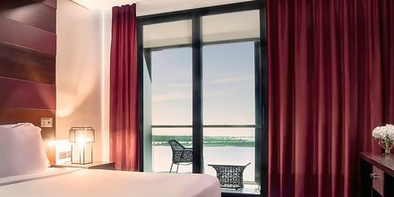 Deluxe-suite på Hotel Radisson Blu Abu Dhabi Yas Island i Abu Dhabi.