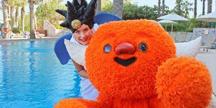 Polly & Mino på Hotel Radisson Blu Abu Dhabi Yas Island i Abu Dhabi.