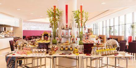 Buffetrestaurant på Hotel Radisson Blu Abu Dhabi Yas Island i Abu Dhabi.