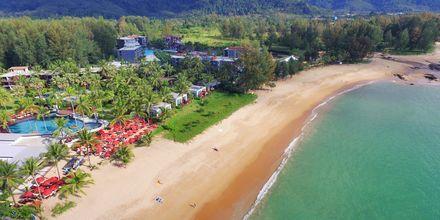 Stranden ved Hotel Ramada Resort Khao Lak, Thailand.