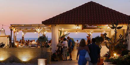 Strandtaverne på Hotel Rania på Kreta, Grækenland.