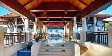 Lobby på Hotel Rawi Warin på Koh Lanta, Thailand.