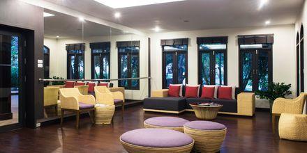Lounge på Hotel Rawi Warin i Koh Lanta, Thailand.