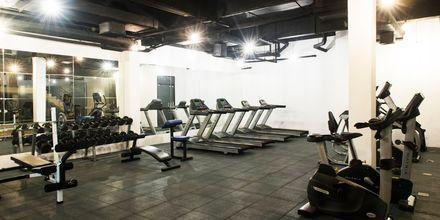 Fitnessrum på Hotel Rawi Warin i Koh Lanta, Thailand.