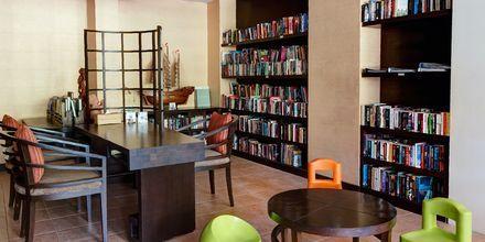 Bibliotek på Hotel Rawi Warin i Koh Lanta, Thailand.