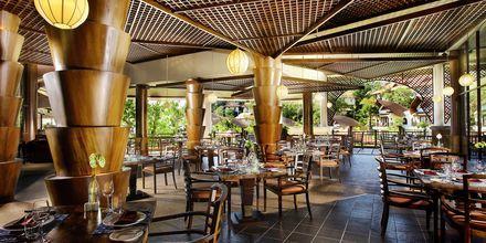 Restaurant på Hotel Rawi Warin i Koh Lanta, Thailand.