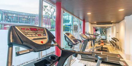 Fitnessrum på Hotel Red Ginger Chic Resort, Ao Nang, Krabi, Thailand